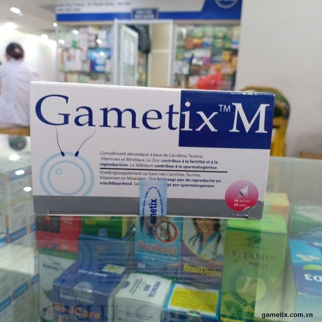 Sử dụng gametix M bao lâu thì đạt hiệu quả ?
