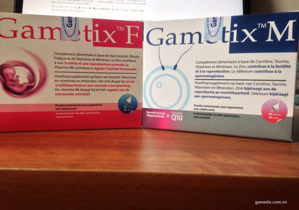 Lưu ý khi sử dụng thuốc gametix