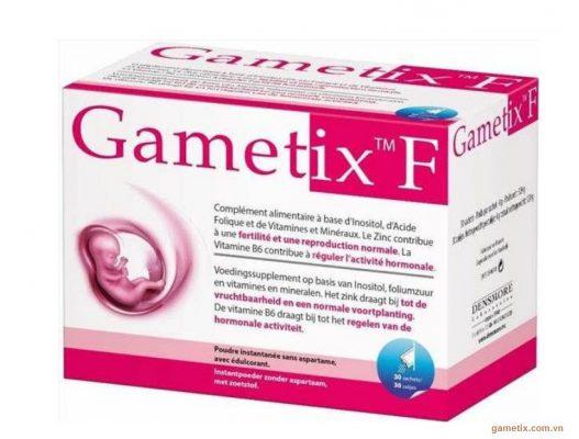Thuốc gametix F có tác dụng tốt đối với bệnh nhân có ý định mang thai